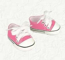 Doll Clothes Canvas Sneakers Pink Fit the 18 inch  American Girl