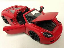 2005 Porsche Carrera GT, Collectible Diecast 1:24 Scale, Jada Toys, Red, DSP
