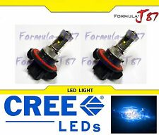 CREE LED 30W 9008 H13 BLUE 10000K TWO BULB HEAD LIGHT REPLACE LAMP HIGH QUALITY
