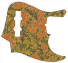 J Jazz Bass Pickguard Custom Fender Graphic Graphical Guitar Pick Guard Pizzaz