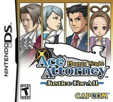Phoenix Wright: Ace Attorney - Justice For All [Nintendo DS DSi, Solve, Mystery]