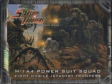 Starship Troopers The Miniatures Game M-1A4 Power Suit Squad Box Set MINT