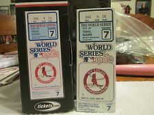ST LOUIS CARDINALS 1982 WORLD SERIES GAME 7 REPLICA TICKET BUSCH STADIUM SGA NIB