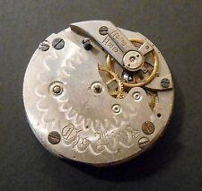 """The King"" Didisheim Marvin Watch Co Swiss New York Pocket Watch Movement"