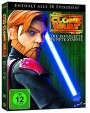 Star Wars: The Clone Wars - Die komplette fünfte Staffel [4 DVDs](NEU & OVP)