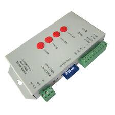 T1000S DMX 512 RGB LED Controller Configurable SPI SD Card WS2811 WS2801 LP6803