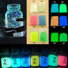 Blue Glow in the dark sand Multi-Color for FISH TANK AQUARIUM ornament 10g