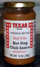 Texas Hot Dog Sauce with MEAT for Coney Dogs,Texas Hots,(2 PACK) Ready To Serve