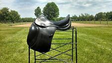 "Dressage Saddle - Spirig Pferdesport - 18"" seat  - MW tree"