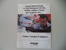 advertising Pubblicità 1994 CASCO HELMET NOLAN N43 REPLICA e EDI ORIOLI