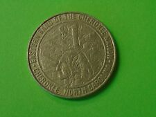 VINTAGE Eastern Band of the Cherokee Nation $1 Gaming Token Cherokee, NC