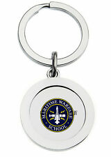 MARITIME WARFARE SCHOOL KEY RING (METAL)
