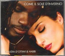 """CLAUDIA D'OTTAVI E HABIB - RARO CDs """" COME IL SOLE D'INVERNO """""""