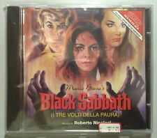 I TRE VOLTI DELLA PAURA BLACK SABBATH - CD Soundtrack OST - Roberto Nicolosi