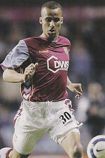 Football Photo GABRIEL AGBONLAHOR Aston Villa 2005-06