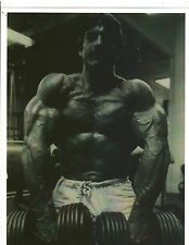 Bodybuilder Mr Universe MIKE MENTZER Bodybuilding Workout Photo B+W