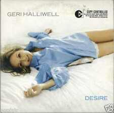 GERI HALLIWELL ‎- DESIRE / LIFT ME UP (K-KLASS REMIX) 2005 EU CARD SLEEVE VIRGIN