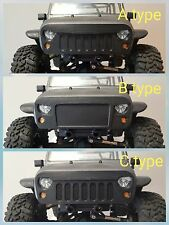 Angry eyes Grill for Axial SCX10 Jeep Rubicon body front bumper 3D print ABS