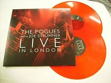 POGUES - LIVE IN LONDON - 2LP RED VINYL NEW UNPLAYED 2014 RSD
