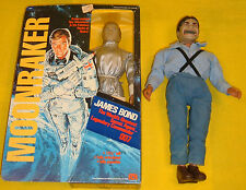 "1979 MEGO JAMES BOND 007 ROGER MOORE MOONRAKER MiB&loose JAWS FIGURE 12"" doll1.6"