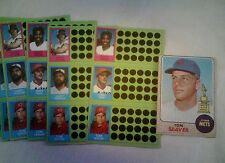 1981 TOPPS SCRATCHOFF  TOM SEAVER 7CT + 1968 TOPPS EXMT METS