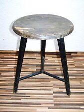 Ancien Tabouret D'atelier, Designer Tabouret, Bois Vintage De Bar, Chaise