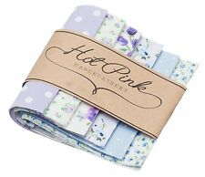 50 x Patchwork Squares Fabric Charm Packs. Many Quilting Designs,  Machine Cut!