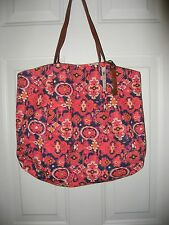 NEW LUCKY BRAND OVERLAPPING STAMP TOTE