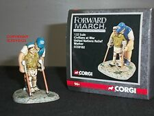 CORGI CC59182 FORWARD MARCH UNITED NATIONS UN RELIEF WORKER TOY SOLDIER FIGURE