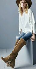 $239 Vince Camuto Melaya Over the Knee Boot Gray Size 7.5