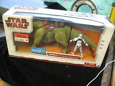 2009 Star Wars Legacy Collection Dewback w/ Imperial Sandtrooper Walmart Exc NIB
