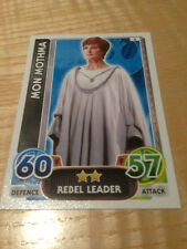 STAR WARS Force Awakens - Force Attax Trading Card #008 Mon Mothma