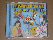 CRISTINA D'AVENA E I TUOI AMICI IN TV 13 - RARO CD SIGILLATO (SEALED)