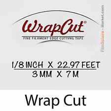 """WrapCut"" - 7m, fil de coupe film vinyl, adhésif, covering, wrap, Filament Tape"
