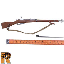Red Army Weapons - Mosin Nagant Rifle w/ Bayonet #2 - 1/6 Scale Toys City Figure