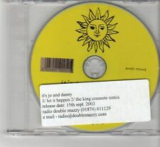 (FR583) It's Jo And Danny, Let It Happen - 2003 DJ CD