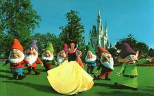 USA - Florida  -   Walt Disney World - Snow White and the seven Dwarfs - ca.1980