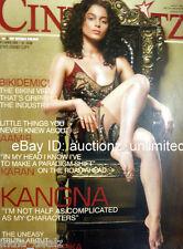 Cineblitz December 2008 Kangana Ranaut Aamir Khan Ranbir Kapoor Deepika Padukone