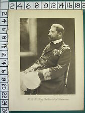 1916 WWI WW1 PRINT ~ KING FERDINAND OF ROUMANIA