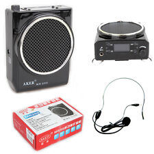 Brand Aker MR200 Portable Voice Booster Amplifier Loud Speaker MP3 USB 2000 mhA