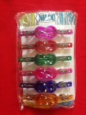 Multi-colour Hair Clips for Women(6 pieces)