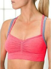 ATHLETA Namaste Seamless Bra,  NWOT, XS, Pink, Sold Out In Stores and Online!