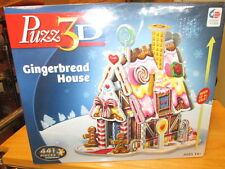 NEW Puzz 3D Gingerbread House - Hasbro/441 pieces - Made in the USA!