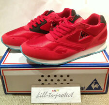 LE COQ SPORTIF Flash 24 KILATES Talla US8.5 UK7 X EU42 rojo del pie Liberación Patrol 2013