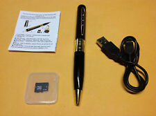 Gold HD Spy Pen 8GB Camera DVR Audio Video Recorder Camcorder Mini DV 1280*960