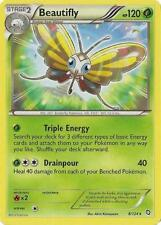 Beautifly Rare Pokemon Card BW6 Dragons Exalted 8/124