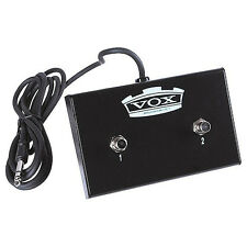Vox VFS2 V-Series Pathfinder Cambridge Guitar Amplifier Dual Footswitch Pedal