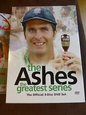 The Ashes -The Greatest Series DVD 2006 3-Disc Box Set Cricket England Australia