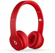 Beats Solo HD Drenched In RED On Ear Headphones Beats By Dr. Dre (PL1-MH9G2AM/A-