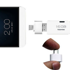 Micro USB To USB 2.0 Adapter mini OTG 5 pin Converter for Phone Android Samsung